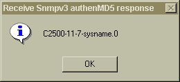 authen MD5 SNMP v3