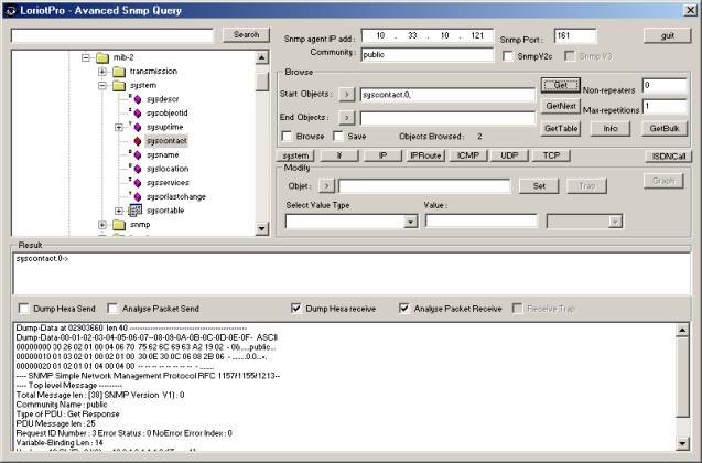 Advanced SNMP Query Tool