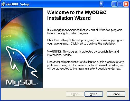 Download mysql odbc driver 3. 51.